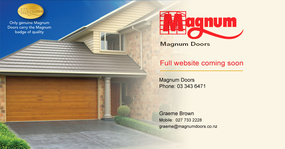 sc 1 th 163 & Magnum Garage Doors in Christchurch New Zealand